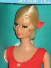 1967 Vintage Stunning Twist 'N Turn TNT Blonde Frost Stacey Barbie SN#1165 NRFB