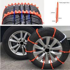10x Truck Car Mini Plastic Winter Tire Wheels Snow Chains Anti-Skid Accessoriess