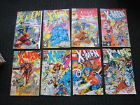X-Men lot 1991, #1 & up 53 issues, 1st Omega Red