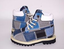Timberland Toddler patchwork Blue 19826 Boots Shoes