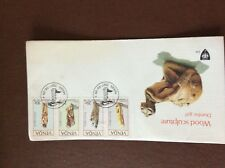 b1u ephemera stamped franked envelope venda 1987 masia doomba girl