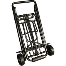 Black Metal Luggage Cart