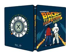 Back to the Future 30th Anniversary Trilogy (4 Blu-Ray) Steelbook Michael J. Fox