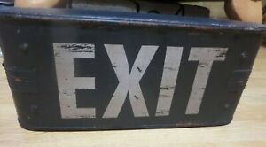 VINTAGE RETO STYLE CINEMA EXIT SIGN