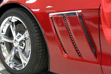 C6 Corvette 2005-2013 Grand Sport 6-pc Laser Mesh Side Fender Inserts