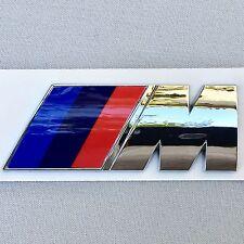 NEW BMW M LOGO FENDER DOOR TRUNK LID ABS NAMEPLATE EMBLEM BADGE EM065