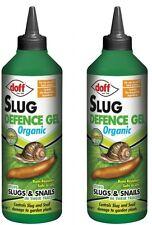 2x Doff Organic Slug Defence Gel 1 Litre - Natural Children & Pet Friendly