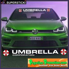 Umbrella Corporation + Blendstreifen 1 ca.130 cm Aufkleber Sticker Tuning