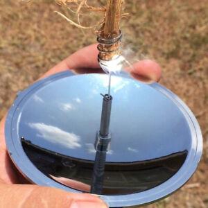 Outdoor Emergency Tool Solar Lighter Camping Survival Waterproof  Windproof Fire