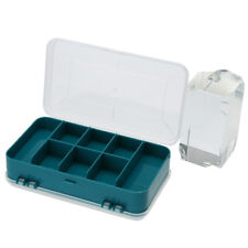 Practical Double-Side Storage Tool Box Transparent 13 Grids Screw Components
