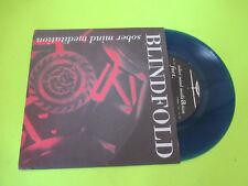 "BLINDFOLD SOBER MIND MEDITATION 45 7"" COLORED VINYL / SXE HC PUNK STRAIGHT EDGE"