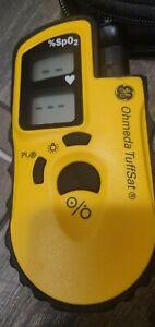 GE Datex Ohmeda TuffSat Handheld Pulse Oximeter SpO2 6051-0000-160 with Sensor
