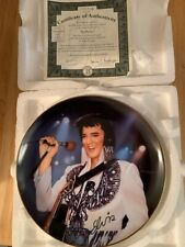 Elvis Presley Remembering Elvis Collectors Plate The Phoenix By Nate Giorgio 6th