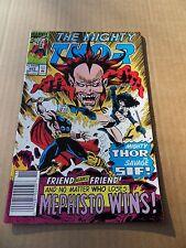 Thor 453 . Mephisto App .   Marvel 1992 -  VF