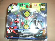 Ben Ten Action Figure - FOUR ARMS & XLR8