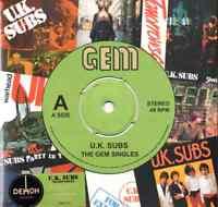 Reino Unido SUBWOOFERS - THE GEM Singles ( NUEVO STILL Sellado Verde Vinilo LP)