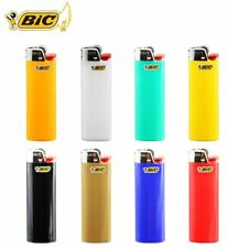 Bic Classic Cigarette Lighters Disposable Full Size, Assorted Colors Pack of 5