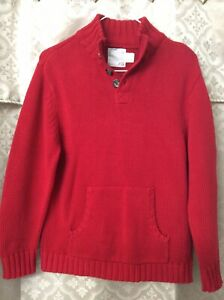 Old Navy Youth Boys Sweater Size Large Color Red