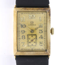 """VINTAGE OMEGA """"ART DECO"""" ARMBANDUHR SWISS MADE CAL. 23.7S-T2 IN 14Kt. GELBGOLD"""