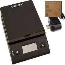 Accuteck 50 Lb All In One Black Digital Shipping Postal Scale W Adapter 8250 50b