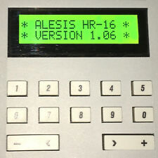 ALESIS HR-16 HR-16B & MMT-8 LCD DISPLAY - REPLACEMENT SCREEN - GREEN
