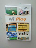 Wii Play (Nintendo Wii, 2007) CD Case and Manual Only No Game