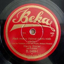 """Harry Steier - Nach meiner Heimat... - Am Mühlenbach - /10"""" 78 RPM"""