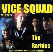 VICE SQUAD THE RARITIES 1979-1985 CD 1999 CAPTAIN OI! HARDCORE PUNK ROCK IMPORT
