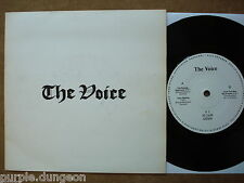 "THE VOICE - Teenage Nightmare  7"" E.P.  ‎– V1  Oi-Punk  w. Maytals Cover Version"