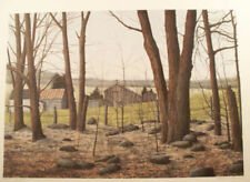 "Helen Rundell Plate S/# Litho ""Wooded Stead"" Fall in the wooded country image"