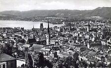 Ansichtskarte Zürich Blick vom Polytechnikum