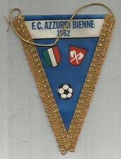 GAGLIARDETTO Pennant FUSSBALL FOOTBALL CALCIO SOCCER  FC AZZURRI BIENNE 1962