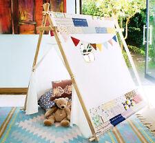 New Children's Canvas A Frame Play Tent / Teepee / Tipi / Wigwam / Den / House