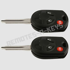 2 Replacement Keyless Key Fob Remote For Ford F 150 250 350 450 550 OUCD6000022