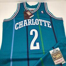 Larry Johnson Charlotte Hornets 1992 - 93 Hardwood Classics Jersey Size Large