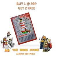 LEGO - #025 LIGHTHOUSE - CREATE THE WORLD TRADING CARD - BESTPRICE + GIFT - NEW