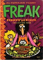 Freak Brothers Collection: v. 4 by Shelton, Gilbert Paperback Book The Fast Free