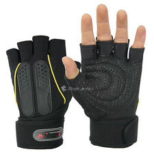 Workout Gym Gloves Weight lifting Training  Wrist Wrap Dumbbell Clearance Sale