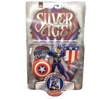 Marvel Comics Silver Age Captain America Figure - Toy Biz PREVIEWS EXCLUSIVE
