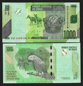 Congo Nieuw 1000 francs 2020 !! UNC   NIEUW 2020 !!!!! nieuw 2020 !!! UNC