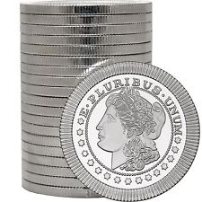 Morgan Dollar Stackables by SilverTowne 1oz .999 Silver Medallion (20pc)
