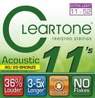 Cleartone Acoustic Bronze 80/20 EMP Strings