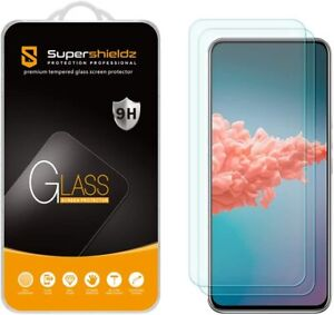 [2-Pack] Supershieldz Tempered Glass Screen Protector for ZTE Axon 20 5G