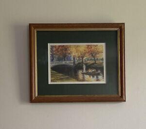 """Punting On The Avon"" 16 x 11cm Print by Jan Rasmussen"