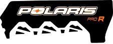 POLARIS RUSH PRO INDY RMK  600 800 PRO R 120 136 TUNNEL  DECAL STICKER orange