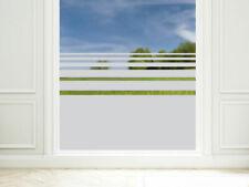 Fensterfolie Sichtschutzfolie Fenster Fensteraufkleber Streifen Büro Küche Dusch