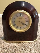 linden Mantel/ Desk clock