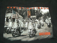Harley Davidson Kauai Hawaii T shirt embroidered harley decal on front