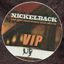 Nickelback 2003 Long Road Concert Tour Backstage Pass! Authentic Original stage