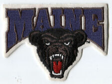 "MAINE BLACK BEARS NCAA COLLEGE 4.25"" TEAM LOGO PATCH"